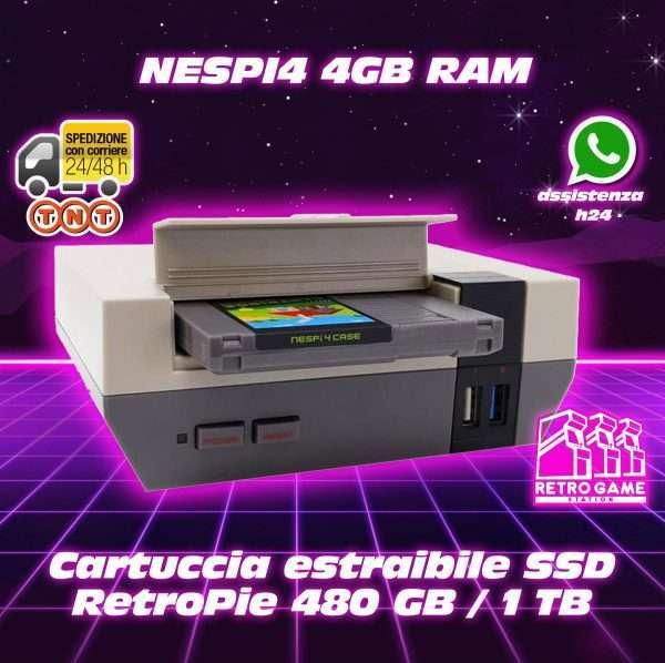 Nespi4 gb ssd 1tb