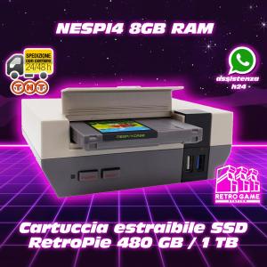Nespi4 8gb ssd 1tb