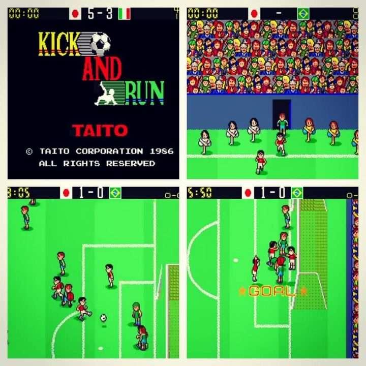 Kick and Run (Mexico 86)