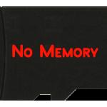 nessuna memoria