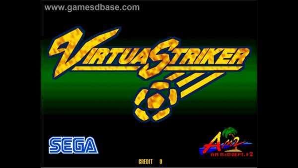 virtua striker sega model